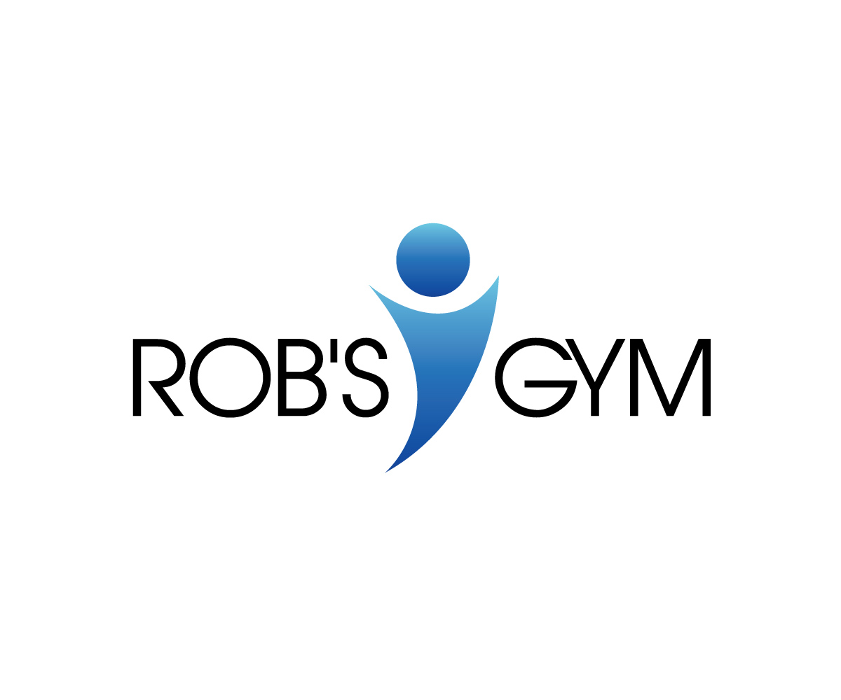 Atrevido moderno logo design for rob s gym by artistika