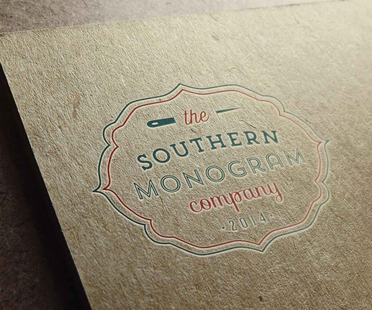 Embroidery Logo Design For The Southern Monogram Co The Southern