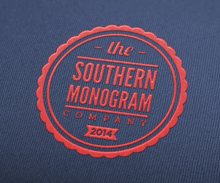 Embroidery Logo Design for The Southern Monogram Co  / The