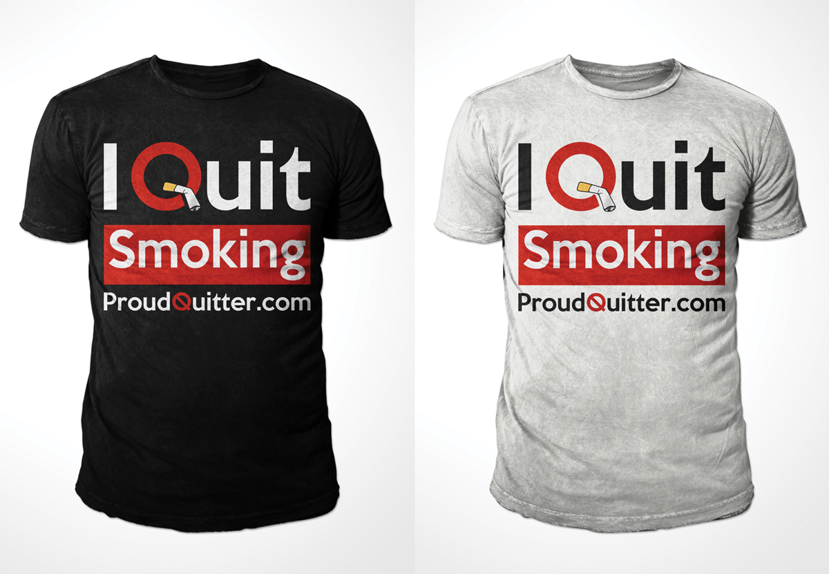 Design t shirt kid - T Shirt Design By Kid Ink For Proud Quitter Design 3841585