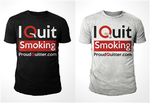 Logo Design by Kid Ink - Proud Quitter