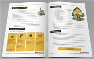 Brochure Design by laxman2creative - Large Financial Advisory Firm Needs a Brochure!
