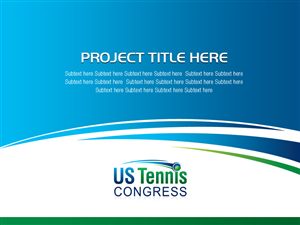 powerpoint design by best design hub for us tennis congress design 3828438