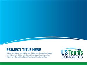 powerpoint design by best design hub for us tennis congress design 3828462