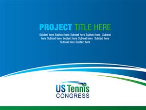 powerpoint design by best design hub for us tennis congress design 3839786