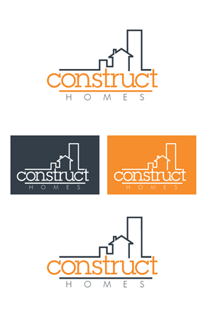 Logo Design by royalroosterdesign - Construct Logo
