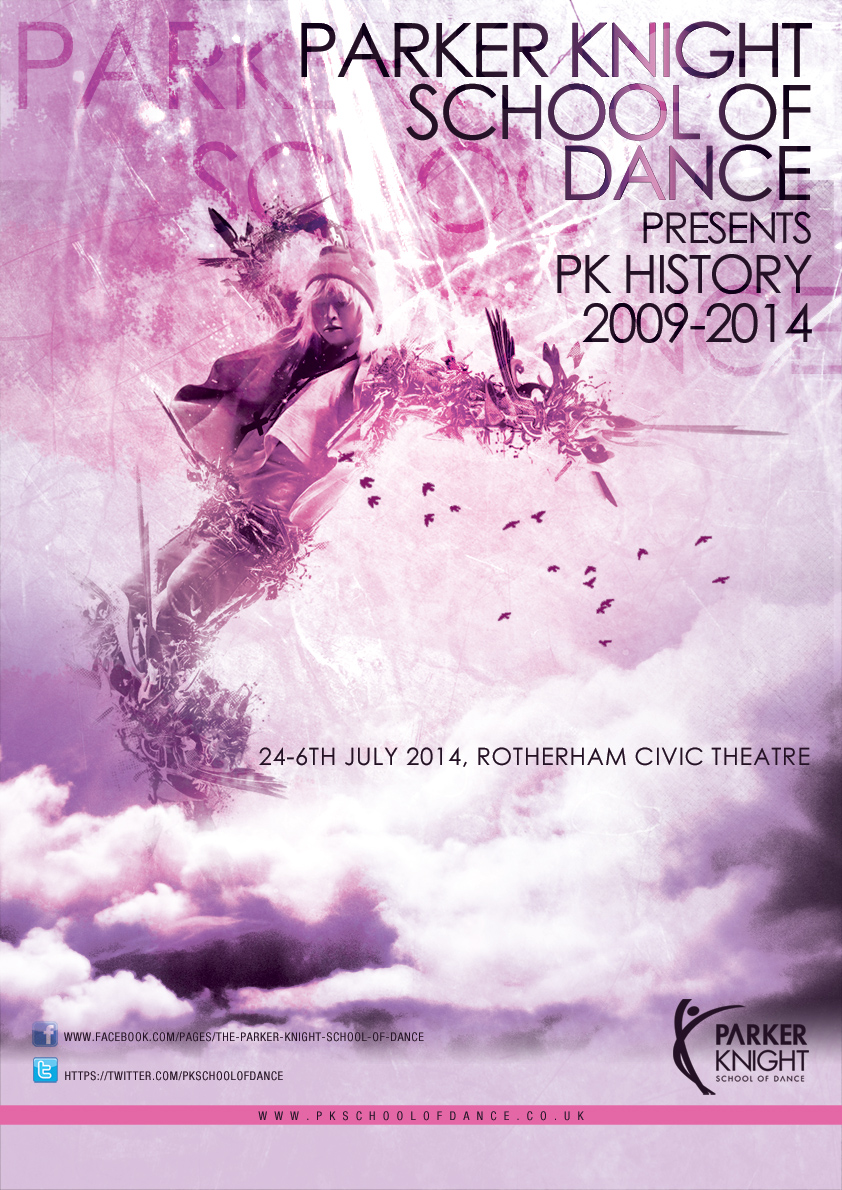 Poster Design By Katrina For Parker Knight School Of Dance