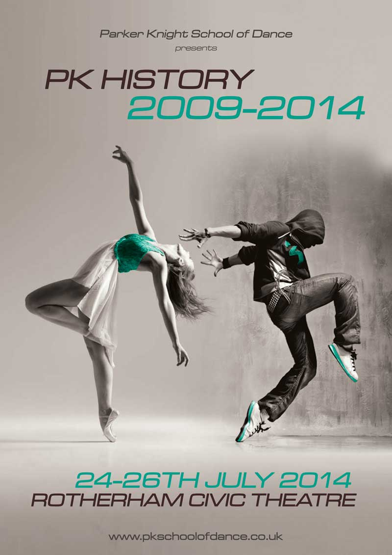 Poster Design By ElYJan For Parker Knight School Of Dance