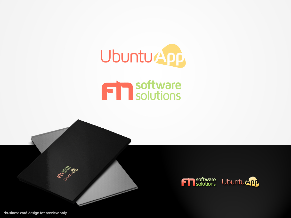 It company logo design for ubuntu app and fn software solutions by it company logo design for a company in united kingdom design 3840069 reheart Image collections