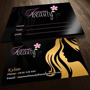 54 Modern Fett Beauty Salon Business Card Designs for a Beauty ...