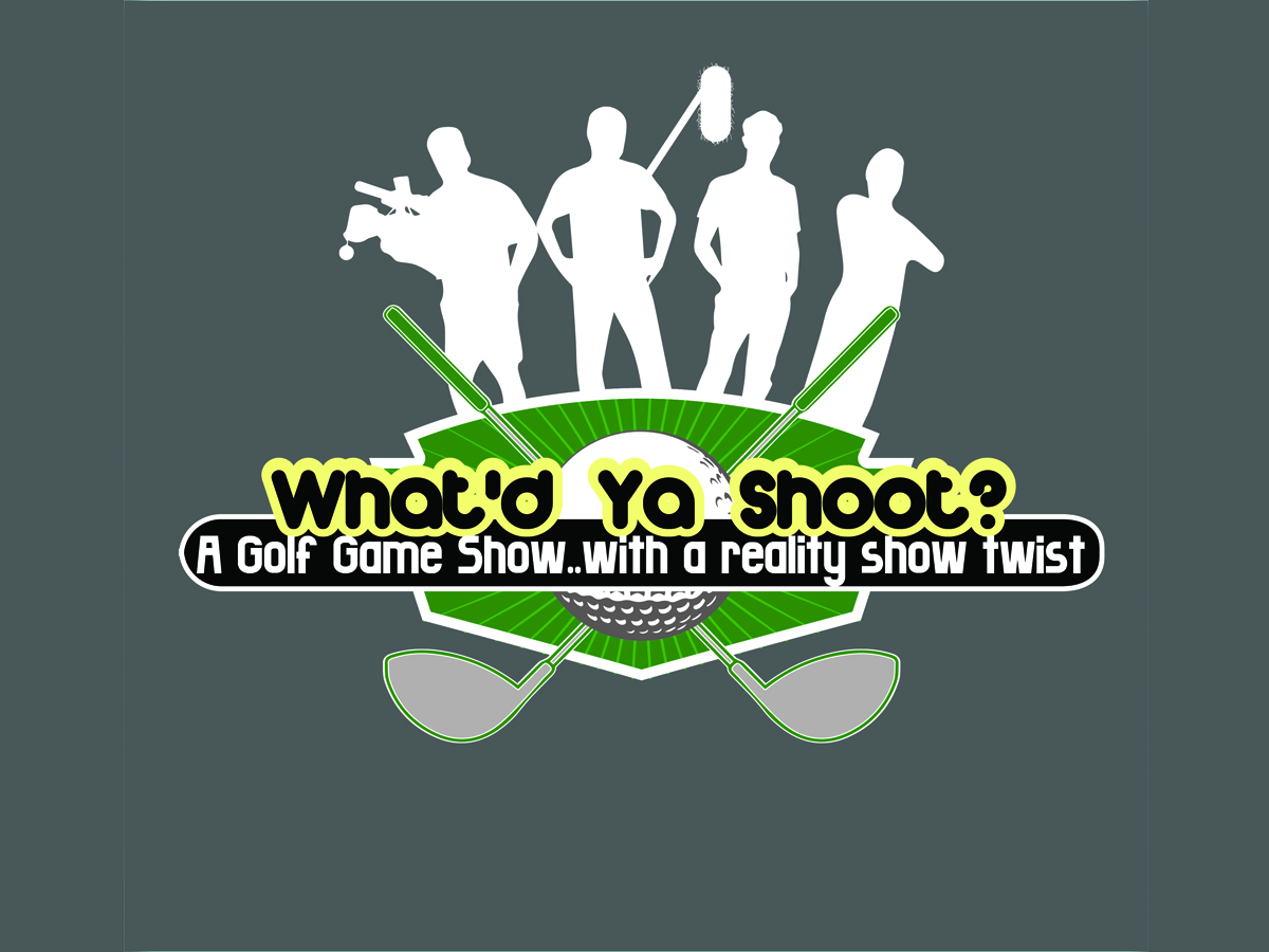 Playful Personable Cash Logo Design For What D Ya Shoot A Golf Game Show With A Reality Show Twist By Buney Design 1024454