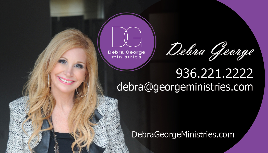 Ministry Business Card Design for Debra George Ministries by Janet W ...