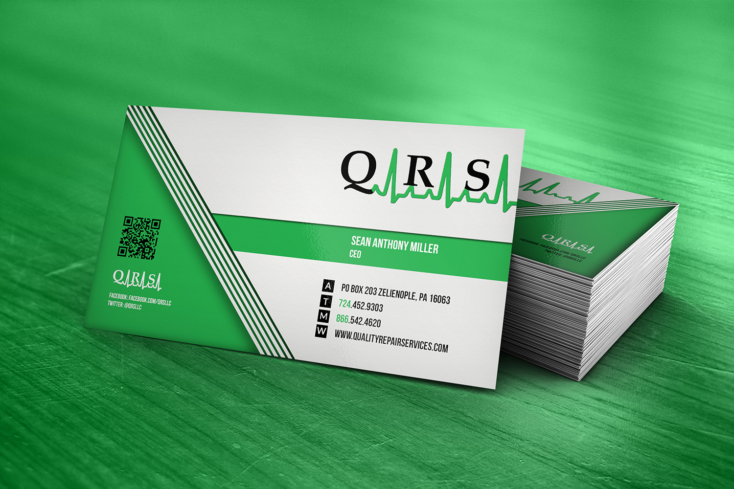 Modern, Professional, Marketing Business Card Design for Quality ...