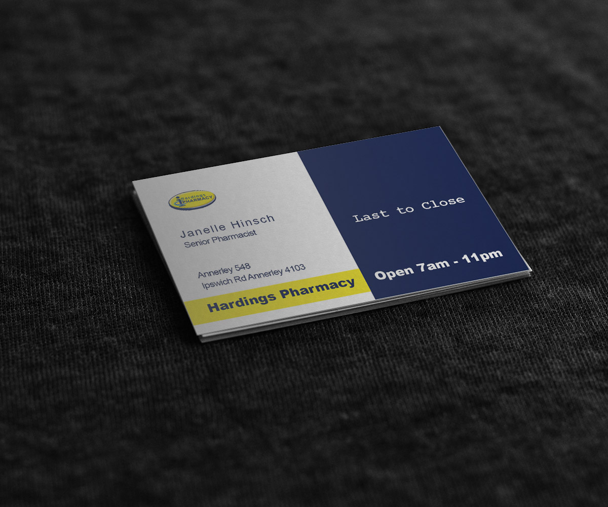 Professional, Upmarket, Business Business Card Design for hardings ...