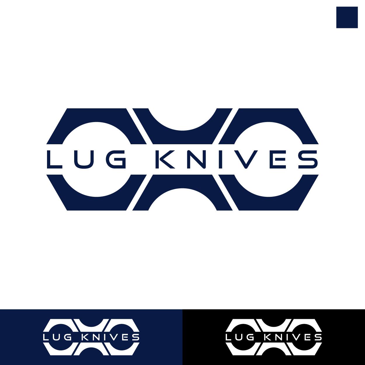Elegant, Playful, It Company Logo Design for LUG KNIVES by Den Choky