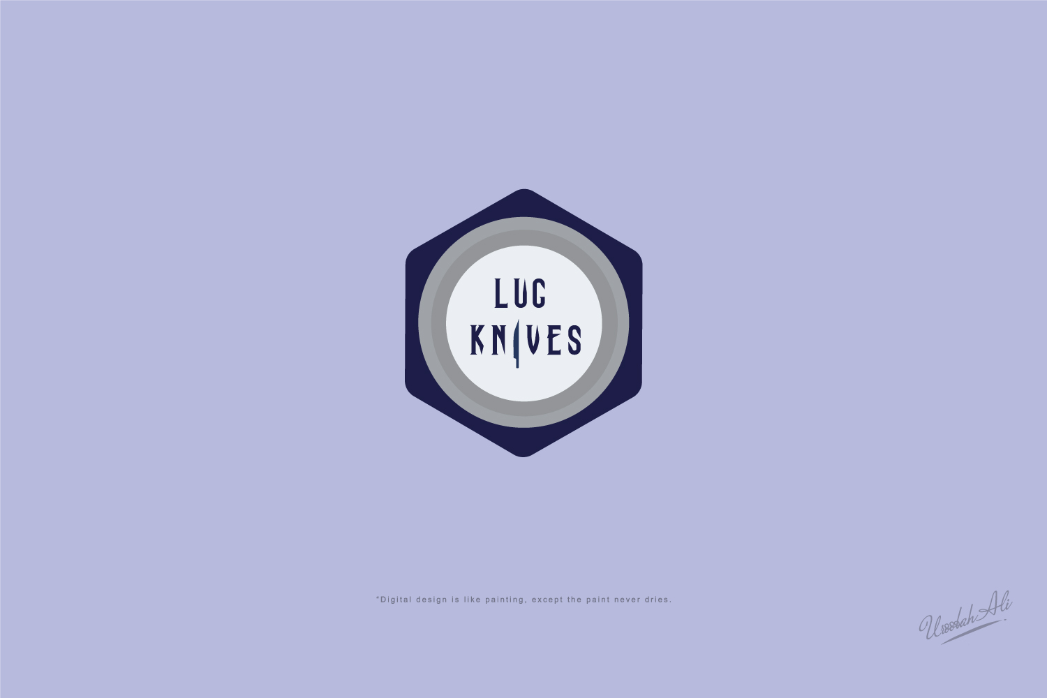 Elegant, Playful, It Company Logo Design for LUG KNIVES by