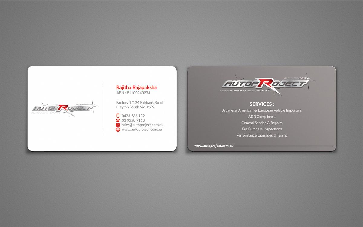 Modern, Upmarket Business Card Design for Rai Rajapaksha by ...
