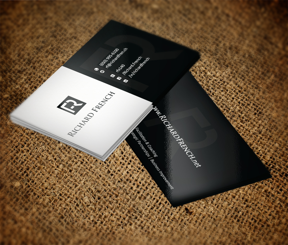 Charming Business Cards For Consultants Gallery - Business Card ...
