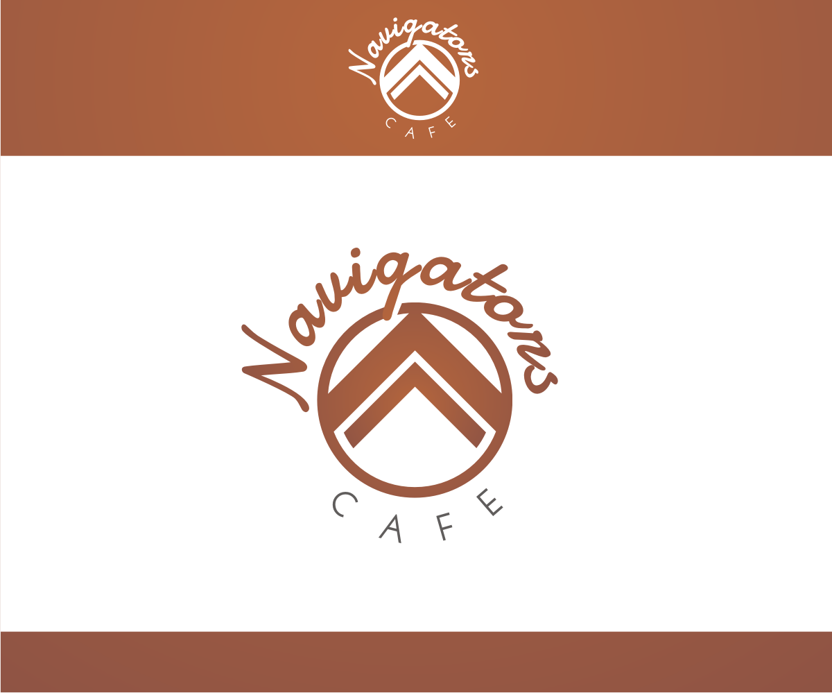 Cafe logo design for navigators cafe by r i d design for D for design