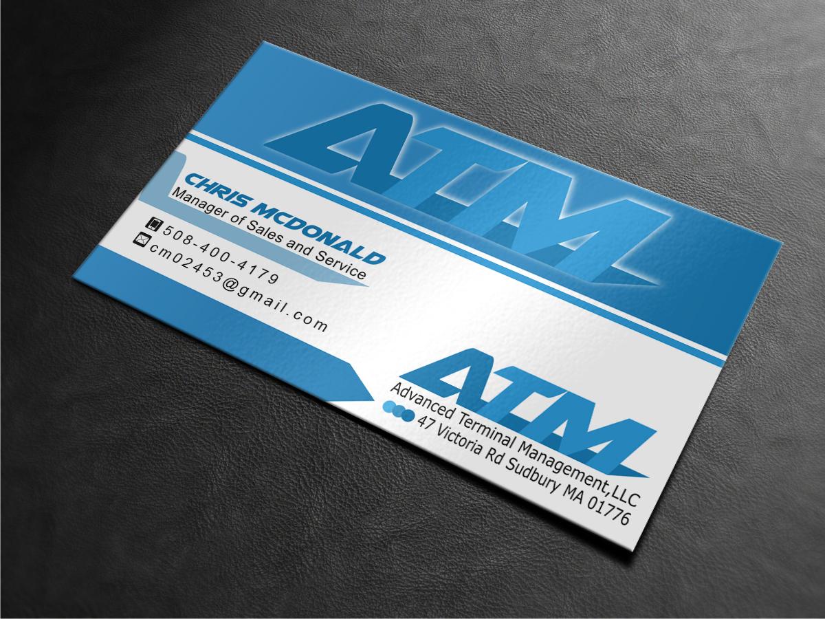 11 business card designs business business card design project for business card design by mt for express atm northeastinc design 3860843 reheart Choice Image