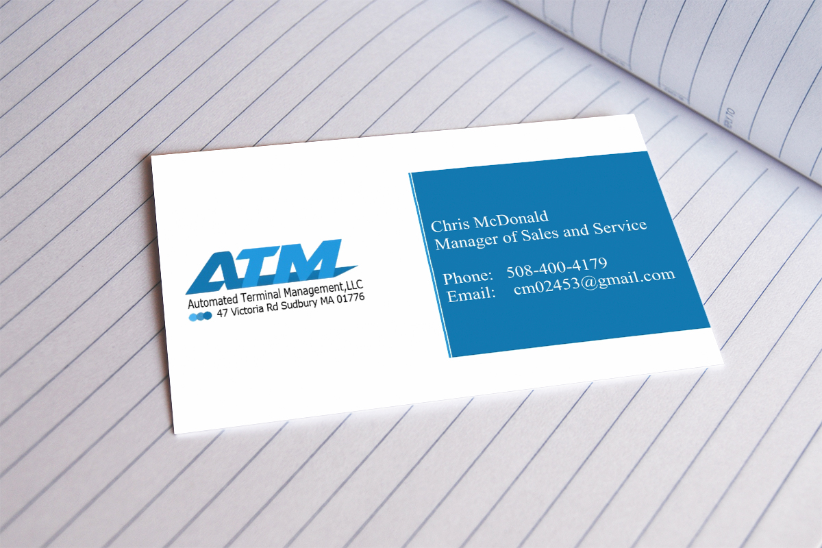 Business business card design for express atm northeastinc by business card design by infinitedesign for express atm northeastinc design 3857883 reheart Choice Image