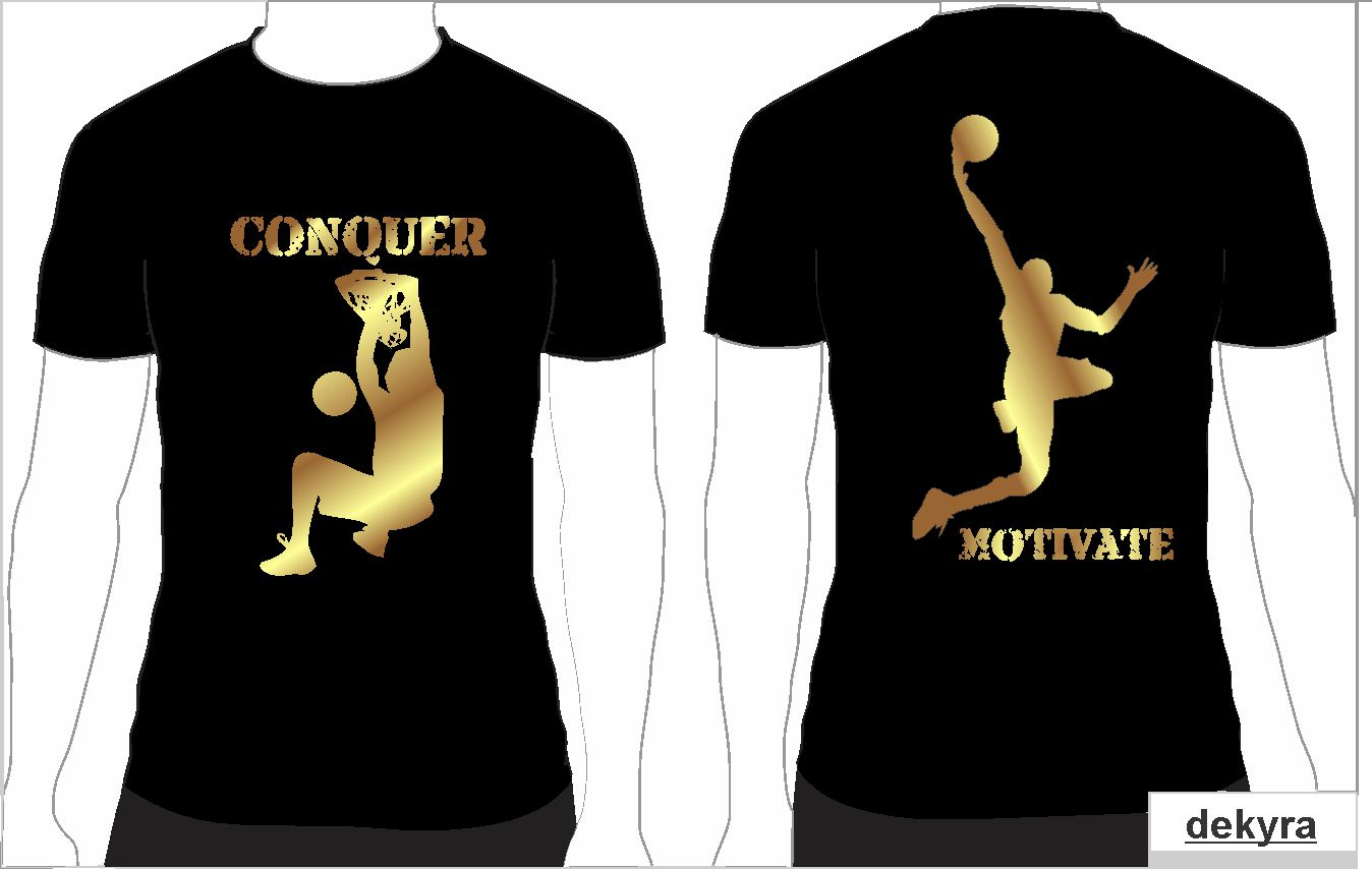 8 professional t shirt designs for a business in united states for Basketball team shirt designs