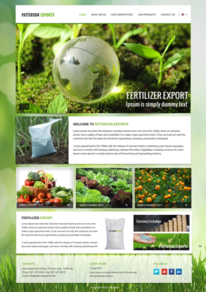 Garden Web Design Design 10 Bold Serious Home And Garden Web Designs For Continental .