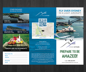 Brochure Design by Deip designs - Sydney Air Tours brochure