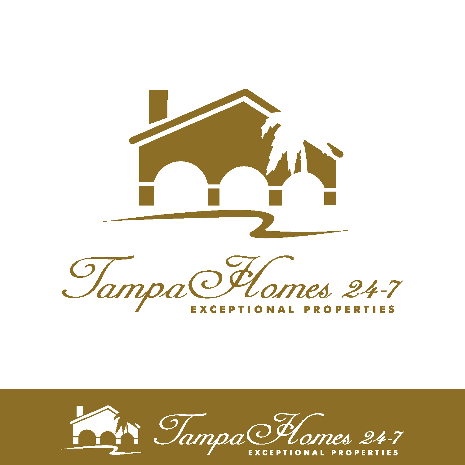 44 professional logo designs for tampa homes 24 7 a business in united states. Black Bedroom Furniture Sets. Home Design Ideas