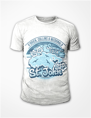 T Shirt Design For A Family Vacation To St John Us
