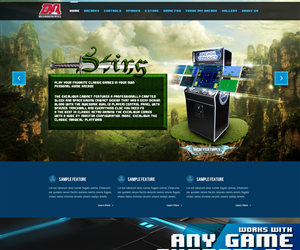 Web Design by Bass Designs - Video Game Company needing Fun, Explosive Aweso...