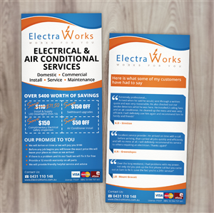 Flyer Design For ElectraWorks By Nelsur