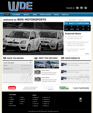 Web Design by Arjun Rajiv