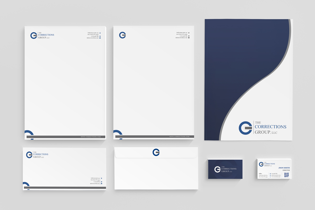 Feminine Professional Electronic Letterhead Design For The