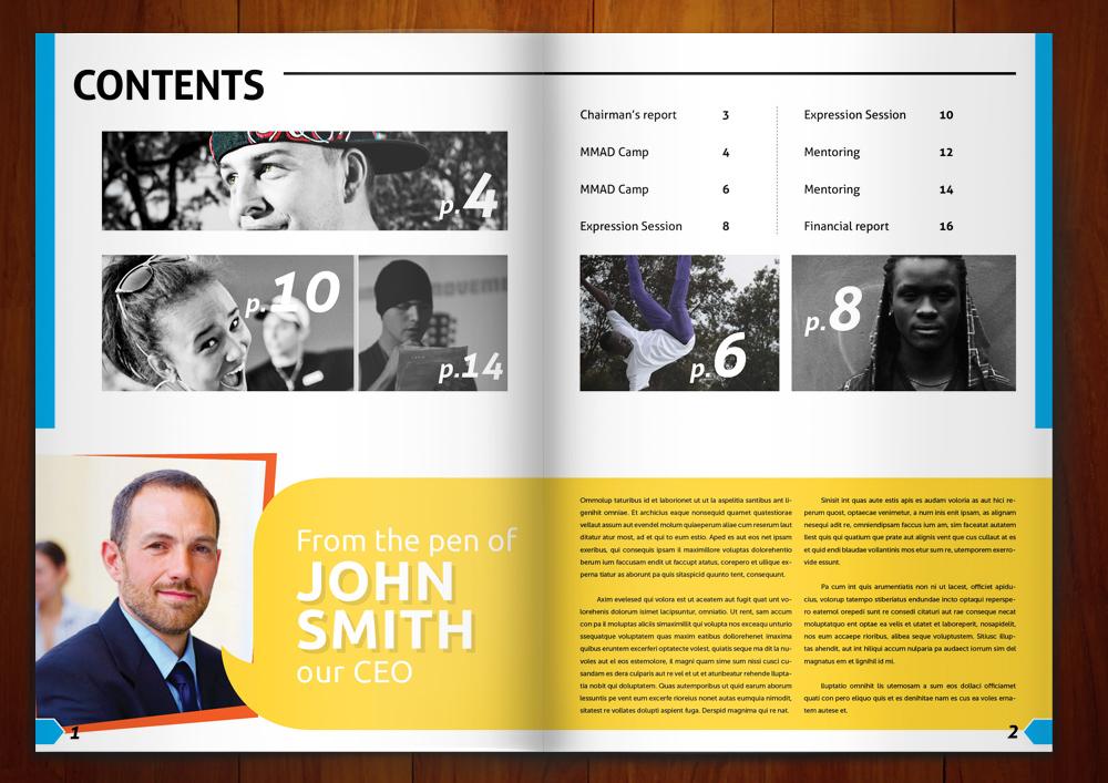 27 bold magazine designs financial magazine design project for a