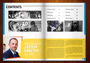 Annual Report Design 1101052