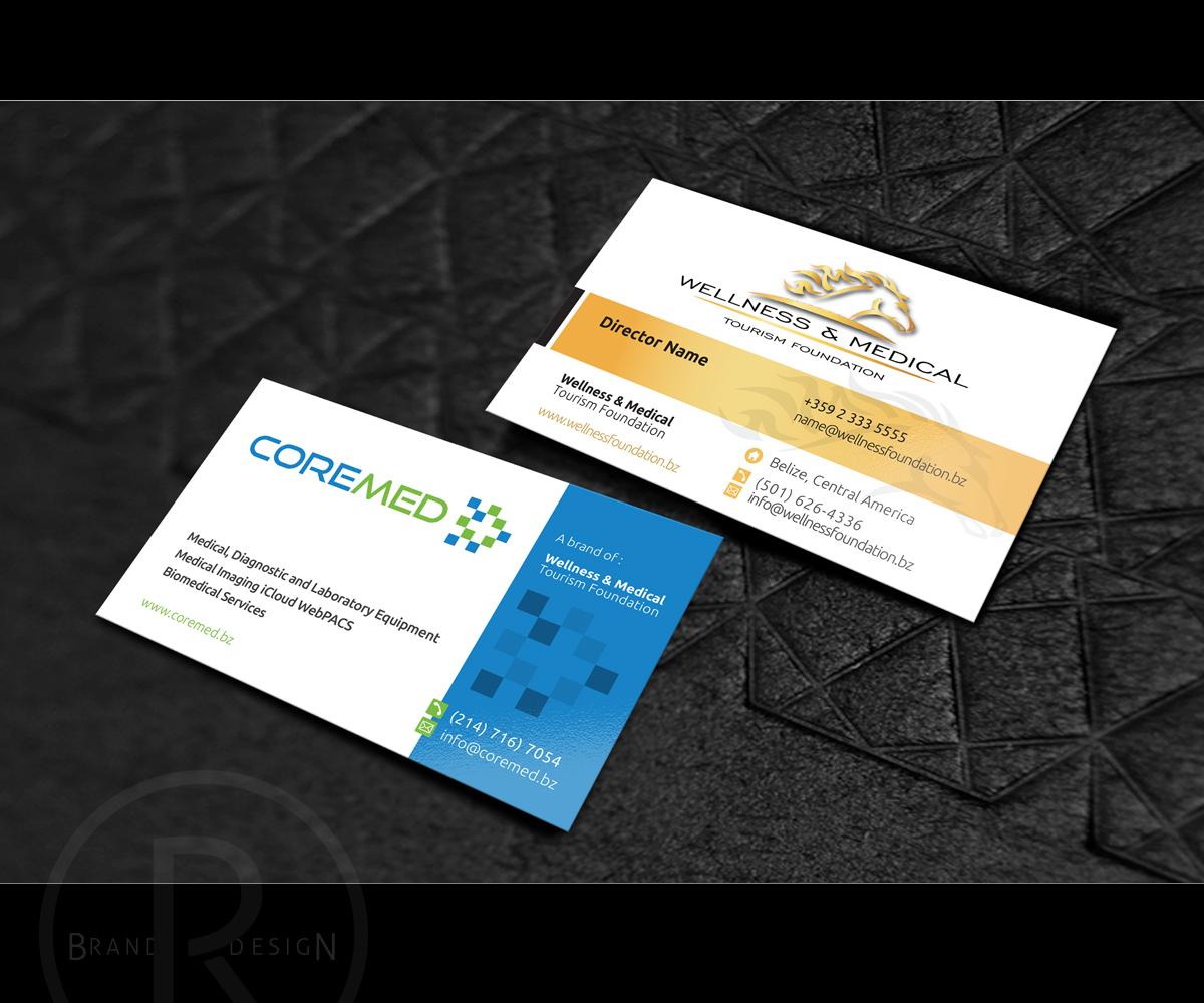 Upmarket masculine business card design for outback ranch by business card design by richlha for two companies with one great goal magicingreecefo Image collections