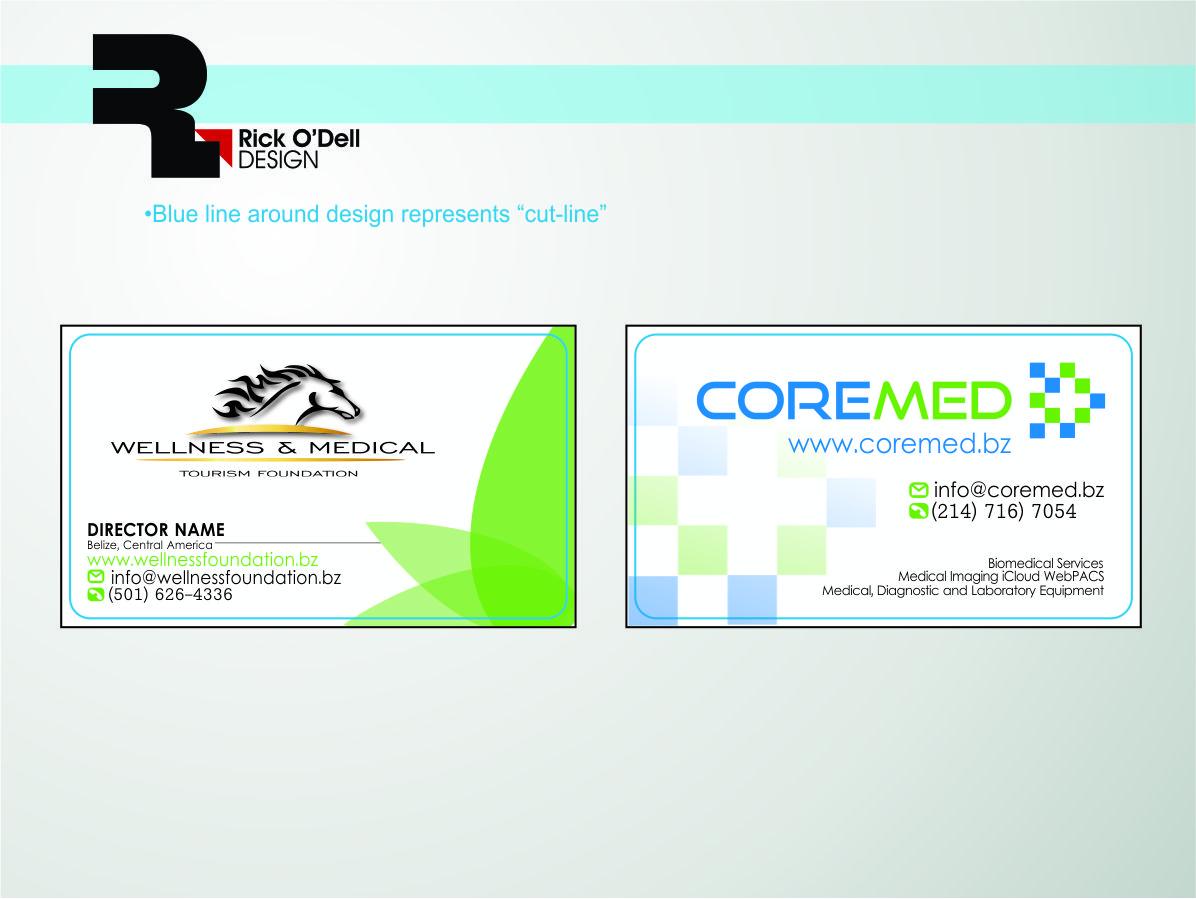 Upmarket, Masculine, Medical Business Card Design for Outback Ranch ...