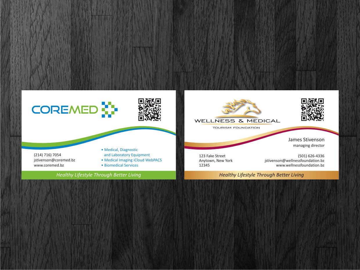 Upmarket masculine business card design for outback ranch by business card design by atvento graphics for two companies with one great goal magicingreecefo Image collections