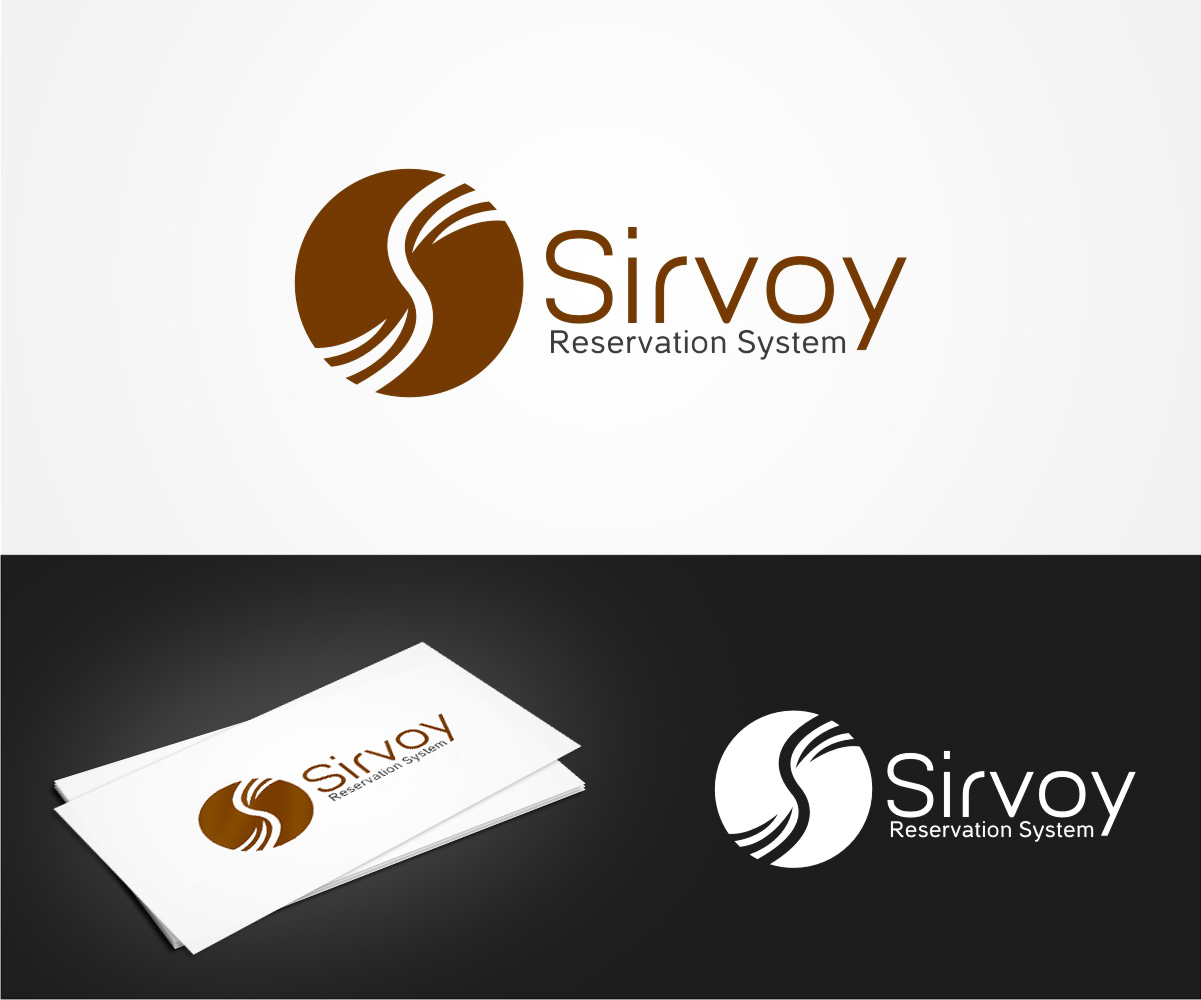 Moderne color logo design for sirvoy ltd by vishak vasu for Design hotel booking system