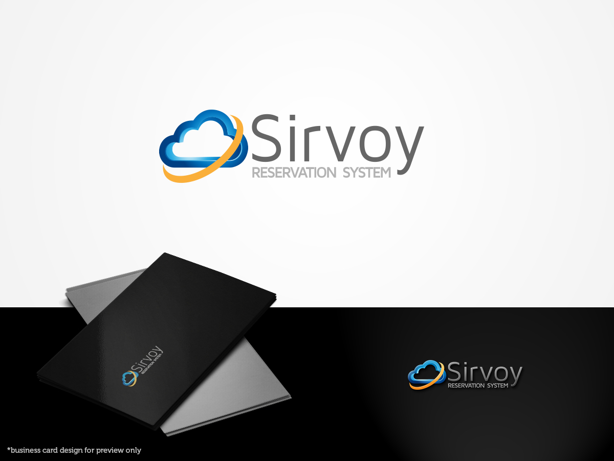 Modern colorful logo design for sirvoy ltd by artsamurai for Design hotel booking system