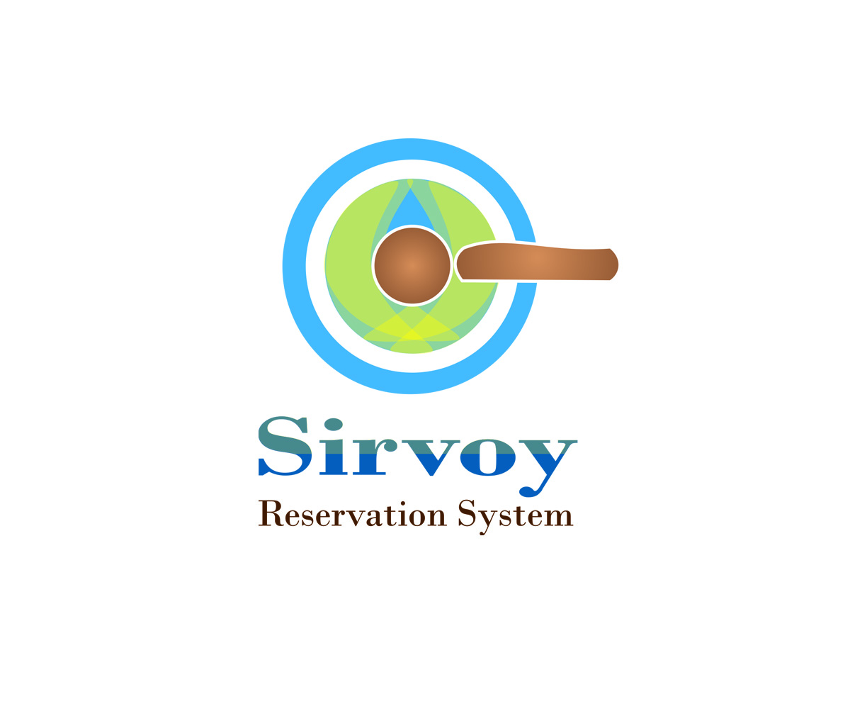 Modern colorful logo design for sirvoy ltd by mlodhari for Design hotel booking system