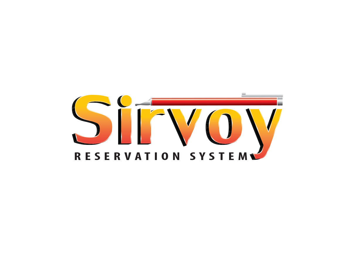 Modern colorful logo design for sirvoy ltd by radubanu for Design hotel booking system