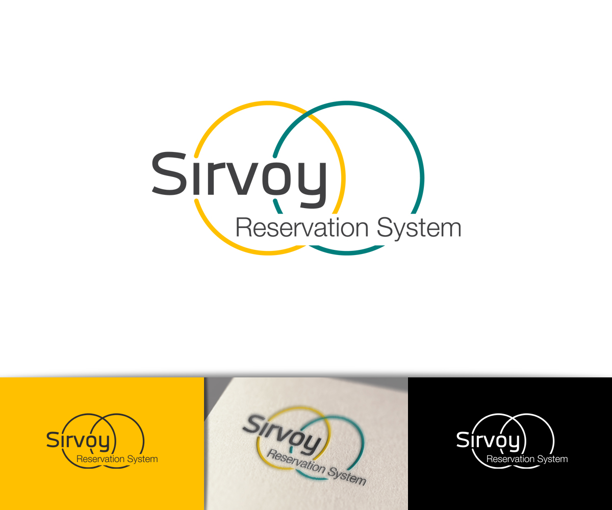 Modern bunt logo design for sirvoy ltd by raph design for Hotel booking design