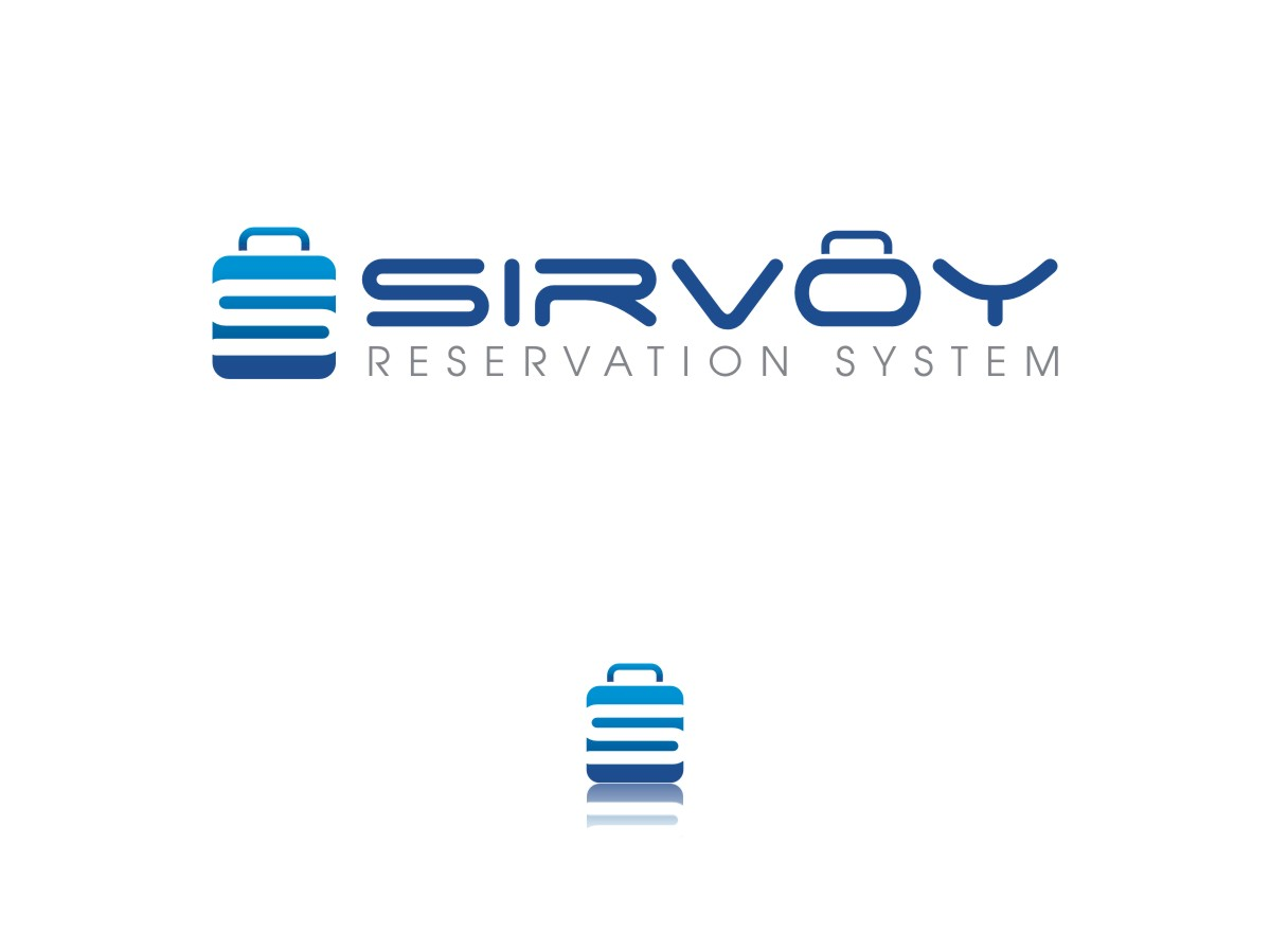 Modern colorful logo design for sirvoy ltd by sushma for Design hotel booking system