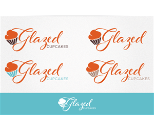Logo Design by Cherry Pop Design - Logo for at Home Bake Shop