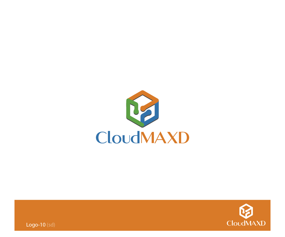 Software logo design for cloud maxd by esolbiz design for Logo drawing program