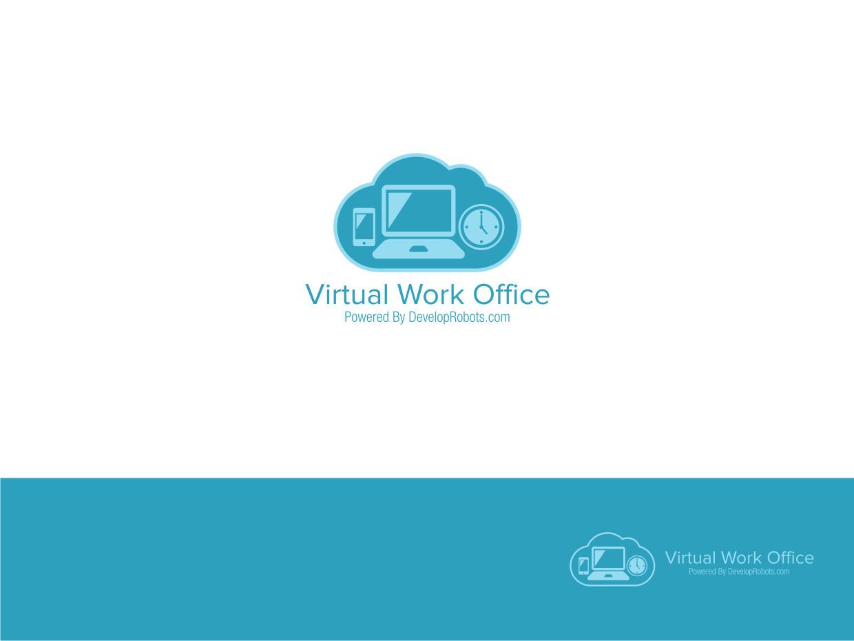 Logo design for ali shivji by atvento graphics design for Virtual office design
