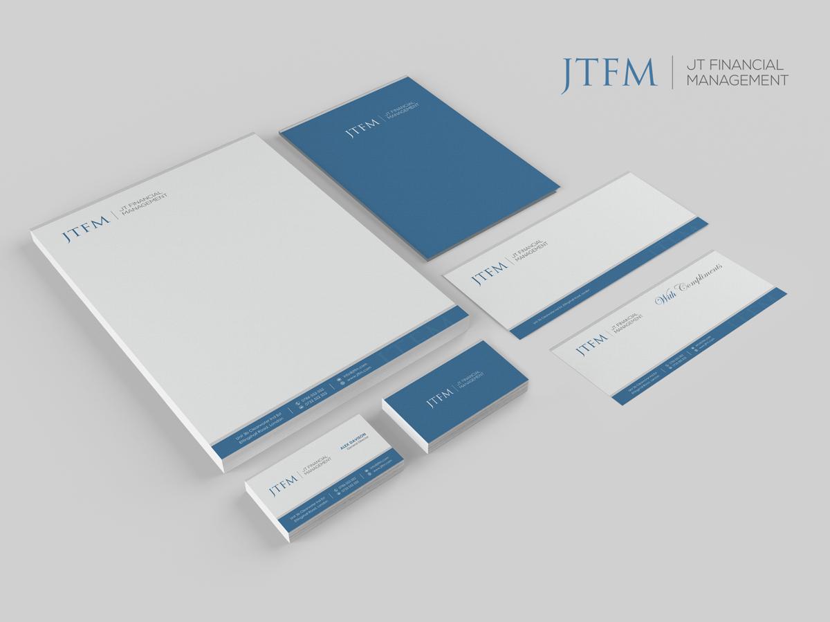 letterhead design by logodentity for jt financial management ltd design 3948713