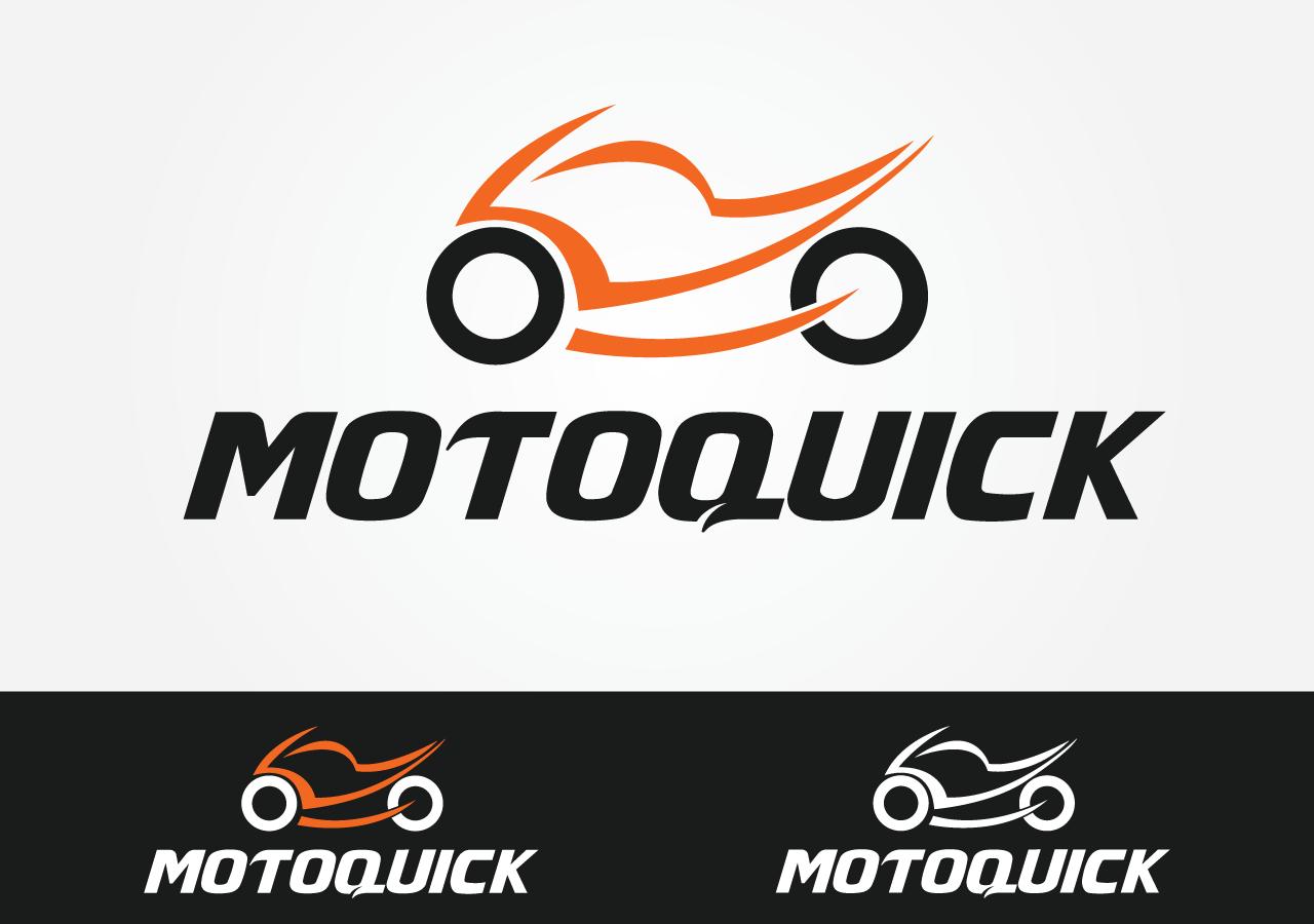 Modern Masculine Shop Logo Design For Motoquick By Gz Designs